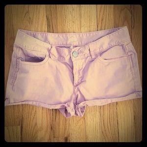 LOFT pink short shorts size 2